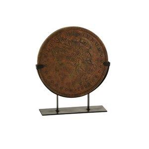 Coin Decoratiune, Polirasina, Bronz