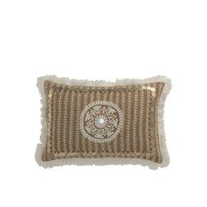Cride Perna decorativa, Textil, Bej