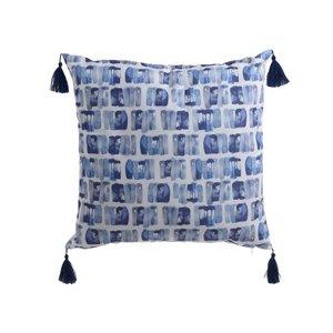 Dabina Perna decorativa, Textil, Albastru