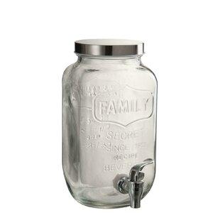 Dana Dispenser bauturi, Sticla, Transparent
