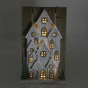 Decoratiune luminoasa de perete The House