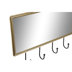 Devos Cuier oglinda, Metal, Auriu