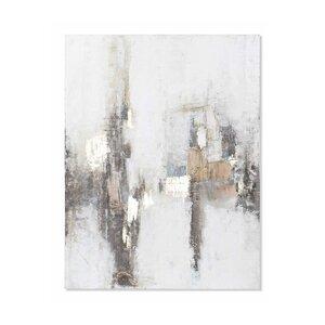 Edna Tablou, Canvas, Gri