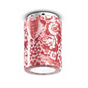 Etta Ming Spot, Ceramica, Rosu