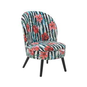 Flora Scaunel, Textil, Multicolor
