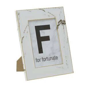 Fortunate Rama Foto mic, Plastic, Alb