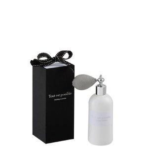 Fragrance Odorizant Spray, Sticla, Alb