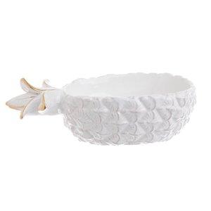 Glam Bol, Ceramica, Alb