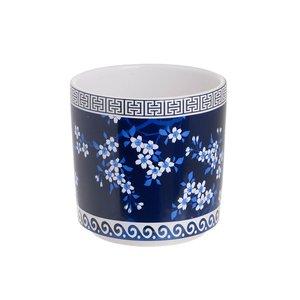 Halin Ghiveci, Ceramica, Albastru