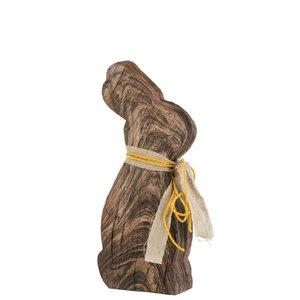 Hanay Decoratiune iepure mare, Lemn, Maro