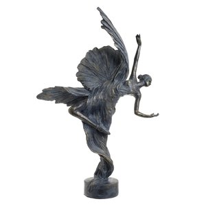 Ivy Statueta Balerina, Polirasina, Albastru
