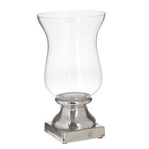 Jarvis Suport lumanare, Ceramica, Argintiu