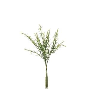 Laine Floare artificiala Lavanda, Plastic, Alb
