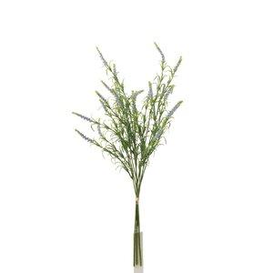 Laine Floare artificiala Lavanda, Plastic, Mov