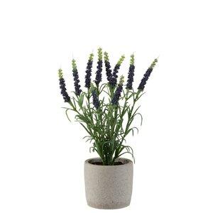 Laleh Floare artificiala in ghiveci, Plastic, Mov