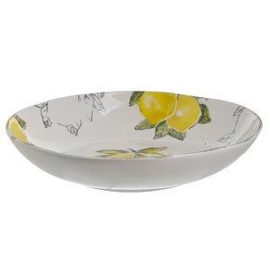 Lemon Bol lamai, Ceramica, Alb