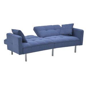 Lincoln Canapea extensibila, Textil, Albastru