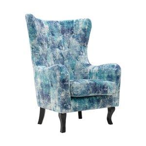 Lovki Fotoliu, Textil, Albastru