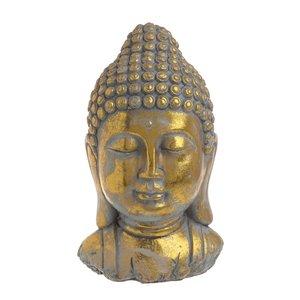 Luys Statueta Buddha, Ciment, Auriu