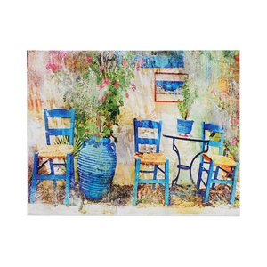 Maisa Tablou Scaune, Canvas, Multicolor