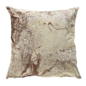 Marble Perna decorativa, Textil, Bej