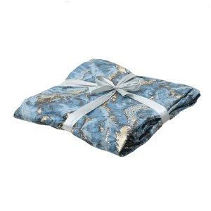 Marble Pled, Textil, Albastru