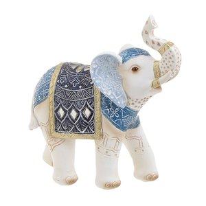 Mathias Decoratiune Elefant mare, Polirasina, Albastru