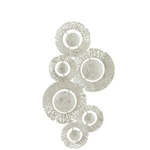 Oil Decoratiune Perete, Fier, Argintiu