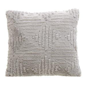 Oliver Perna decorativa, Textil, Gri