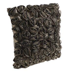Ora Perna decorativa, Textil, Argintiu
