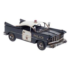 Police Decoratiune, Metal, Negru