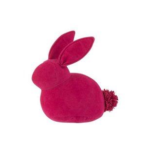 Rabbit Decoratiune, Catifea, Roz