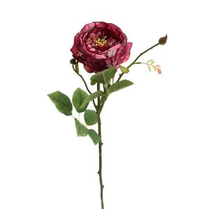Roses Floare artificiala,Trandafir, Plastic, Rosu