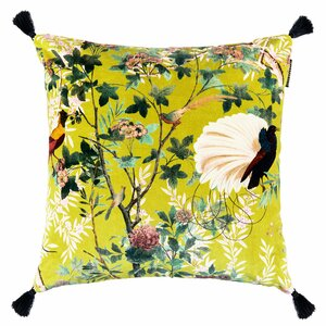 Royal Garden Perna decorativa, Catifea, Galben