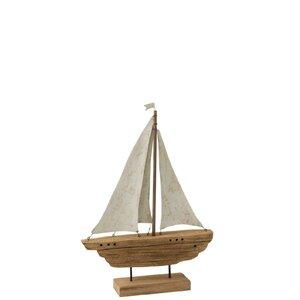 Salei Decoratiune barca, Lemn, Maro