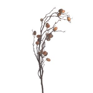 Shelley Floare artificiala, Plastic, Rosu