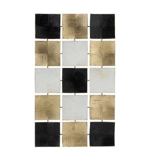 Squares Decoratiune perete, Metal , Multicolor