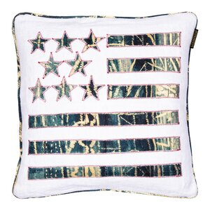 Stars And Stripes Perna decorativa, In, Albastru
