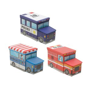 Tomis Cutie jucarii masina, Carton, Multicolor