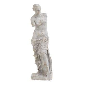 Venus Statueta Femeie mic, Ciment, Gri