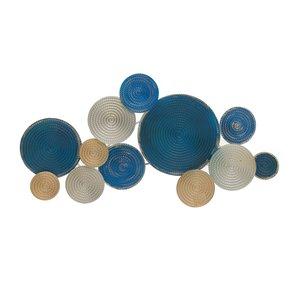 Vicka Decoratiune perete, Metal, Albastru