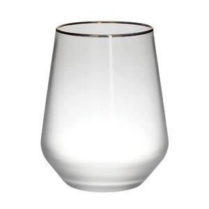 Vilan Set 6 pahare whiskey, Sticla, Transparent
