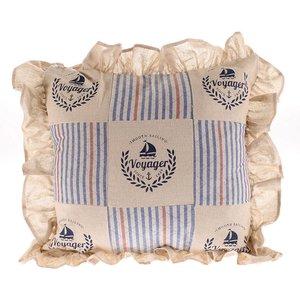 Voyager Perna decorativa, Textil, Crem