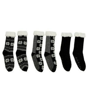 Zimo Pereche sosete cadou, Textil, Negru