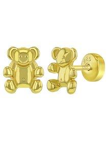 Cercei argint 925 Teddy Bear, pentru copii