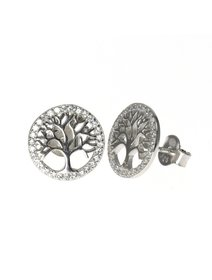 Cercei IJOO, din argint 925 - Symbology - Tree of Life / Copacul Vietii