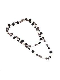 Colier IJOO cu pietre semipretioase si perle de cultura