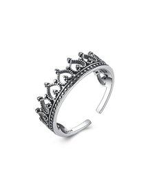 Inel IJOO, din argint 925 - Vintage Crown