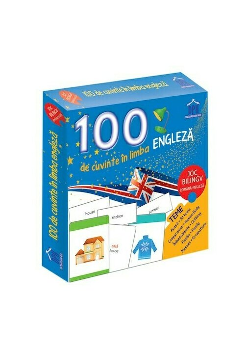 100 de cuvinte in limba engleza - Joc bilingv