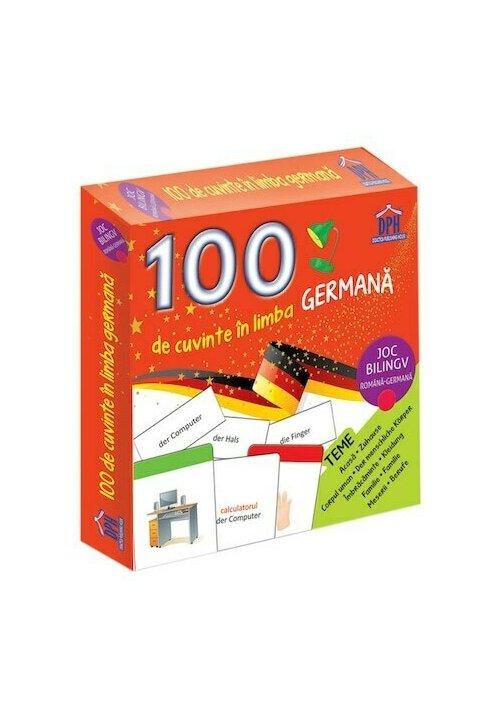 100 de cuvinte in limba germana - Joc bilingv
